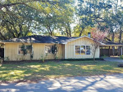Ocean Springs Single Family Home For Sale: 8709 Neptune Ave