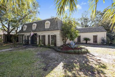 Gulfport Single Family Home For Sale: 17 Mockingbird Ln