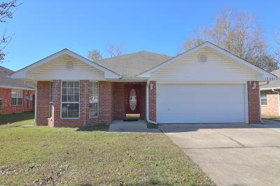 Gulfport Single Family Home For Sale: 12291 Amanda Way