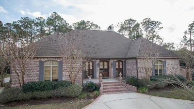 Gulfport Single Family Home For Sale: 107 Lundgren Ln