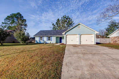 Ocean Springs Single Family Home For Sale: 6405 J F Douglas Dr