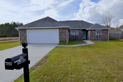 Ocean Springs Single Family Home For Sale: 7220 Bayou Landing Dr