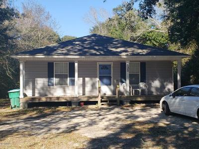 Gulfport Single Family Home For Sale: 732 25th St