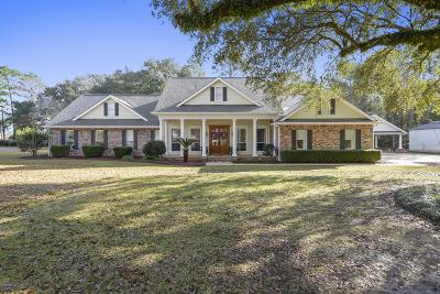 Biloxi Single Family Home For Sale: 11556 Holly Bluff Cir
