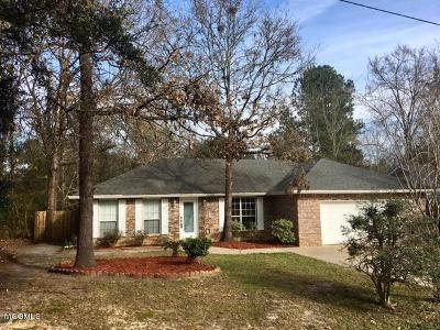 Diamondhead Single Family Home For Sale: 7948 Hapuna Pl