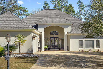 Pass Christian Single Family Home For Sale: 7440 Live Oak Way