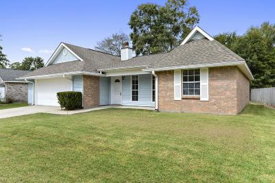 Gulfport Single Family Home For Sale: 15214 Sunset Dr