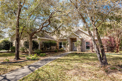 Ocean Springs Single Family Home For Sale: 3002 Trentwood Dr