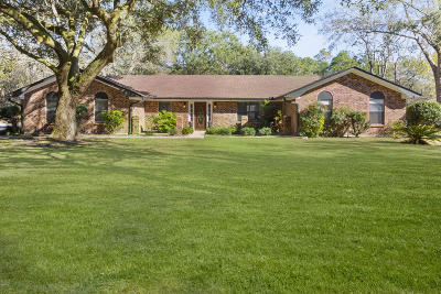 Ocean Springs Single Family Home For Sale: 5500 Brown Rd