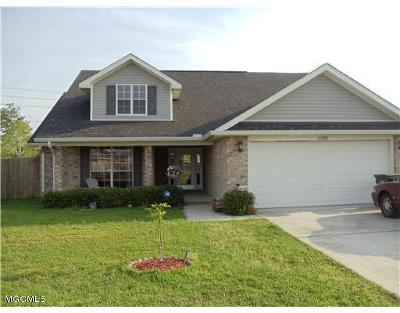 Gulfport Single Family Home For Sale: 11978 Stage Dr