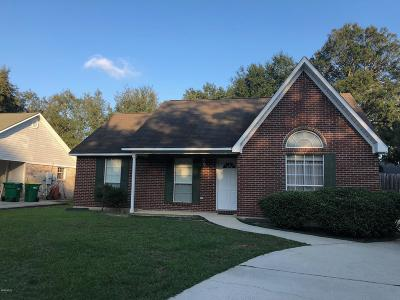 Ocean Springs Single Family Home For Sale: 1600 S 8th St