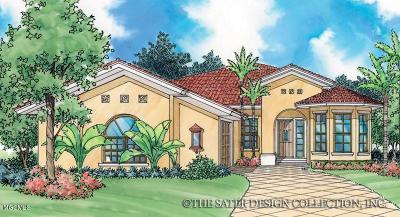 Diamondhead Single Family Home For Sale: 87106 Highpoint Dr