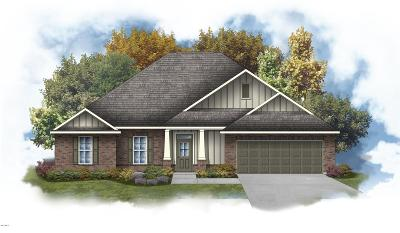 Ocean Springs Single Family Home For Sale: 11705 Brookstone Dr
