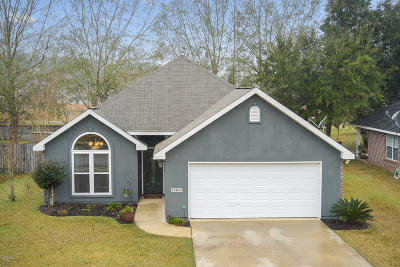 Gulfport Single Family Home For Sale: 11444 Azalea Trce
