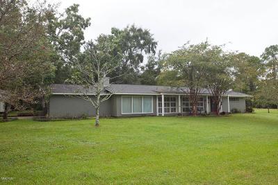 Gulfport Single Family Home For Sale: 125 Bayou Cir