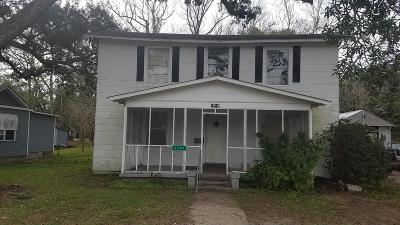 Gulfport Single Family Home For Sale: 1707 22nd St