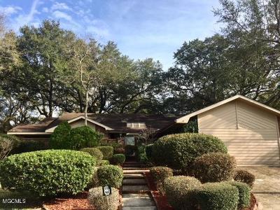 Diamondhead Single Family Home For Sale: 7739 Manini Way