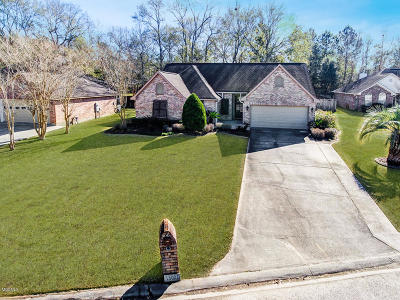 Gulfport Single Family Home For Sale: 15001 S White Swan Dr
