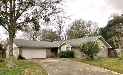 Biloxi MS Single Family Home For Sale: $110,000