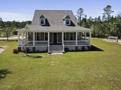 Saucier Single Family Home For Sale: 25265 Redmond Rd
