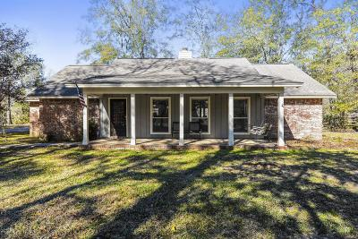 Ocean Springs Single Family Home For Sale: 9100 Old Walnut Rd