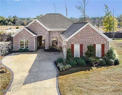 Ocean Springs Single Family Home For Sale: 5600 Chalone Pl