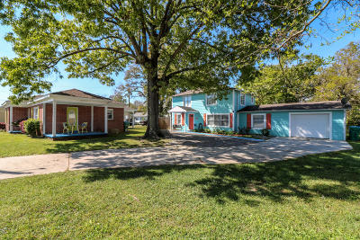 Gulfport Single Family Home For Sale: 805 1/2 Broad Ave