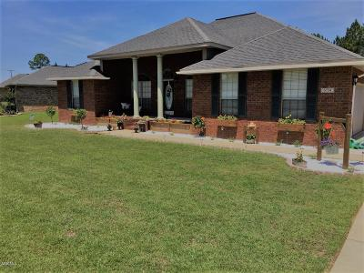 Ocean Springs Single Family Home For Sale: 6754 Biddix Evans Rd