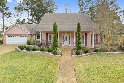 Diamondhead Single Family Home For Sale: 95505 W Diamondhead Dr