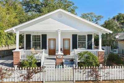 Bay St. Louis Single Family Home For Sale: 241 Washington St