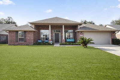 Ocean Springs Single Family Home For Sale: 112 Cattail Ln