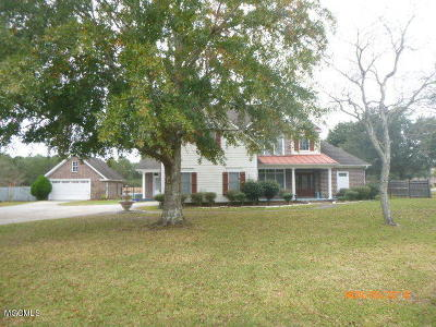 Gulfport Single Family Home For Sale: 12625 S Lake Forest Dr