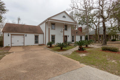 Biloxi Single Family Home For Sale: 1975 Bayside Dr