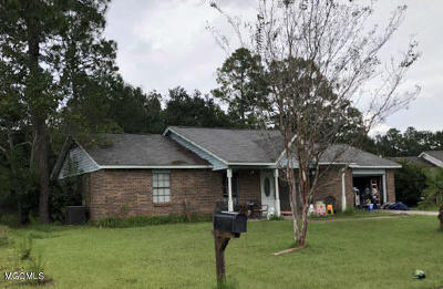 gulfport Single Family Home For Sale: 34 Joanna Ln