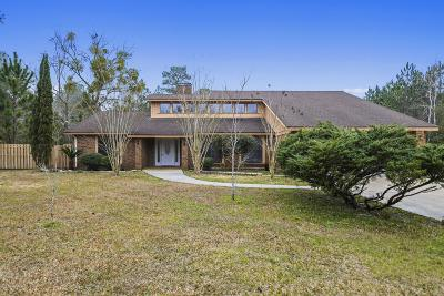 Ocean Springs Single Family Home For Sale: 7501 Joe Fountain Rd