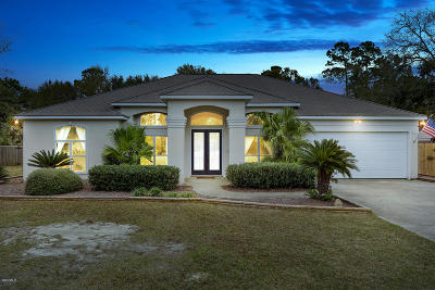 Ocean Springs Single Family Home For Sale: 8000 Clamshell Ave