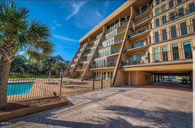 Biloxi Condo/Townhouse For Sale: 520 Beach Blvd #601