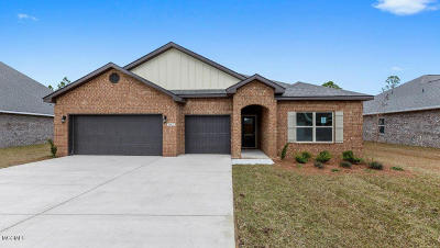 Biloxi MS Single Family Home For Sale: $285,235