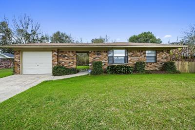 Gulfport Single Family Home For Sale: 13017 Andy Dr