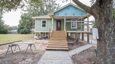 Gulfport Single Family Home For Sale: 1509 Sadler Dr