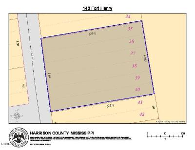 Pass Christian Residential Lots & Land For Sale: 140 Fort Henry St