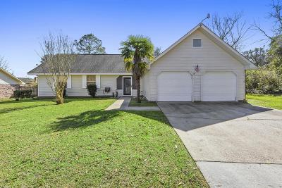 Gulfport Single Family Home For Sale: 15353 Woody Dr