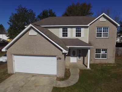 Biloxi Single Family Home For Sale: 15205 Lisa Dr
