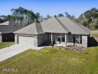 Ocean Springs Single Family Home For Sale: 7476 Saints Cir