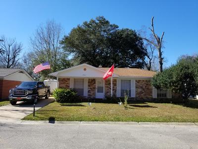 Biloxi Single Family Home For Sale: 7113 Knollwood Dr