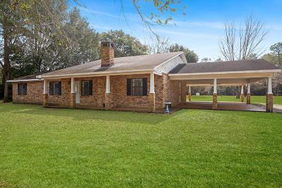 Ocean Springs Single Family Home For Sale: 5521 Brown Rd