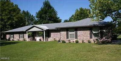 Ocean Springs Single Family Home For Sale: 7001 Baker Rd