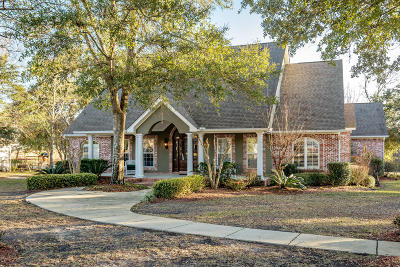 Ocean Springs Single Family Home For Sale: 8001 Clamshell Ave