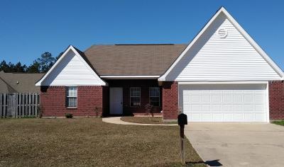 Ocean Springs Single Family Home For Sale: 2109 Irma Cir