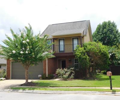 Ocean Springs Single Family Home For Sale: 3825 Chateau Cv